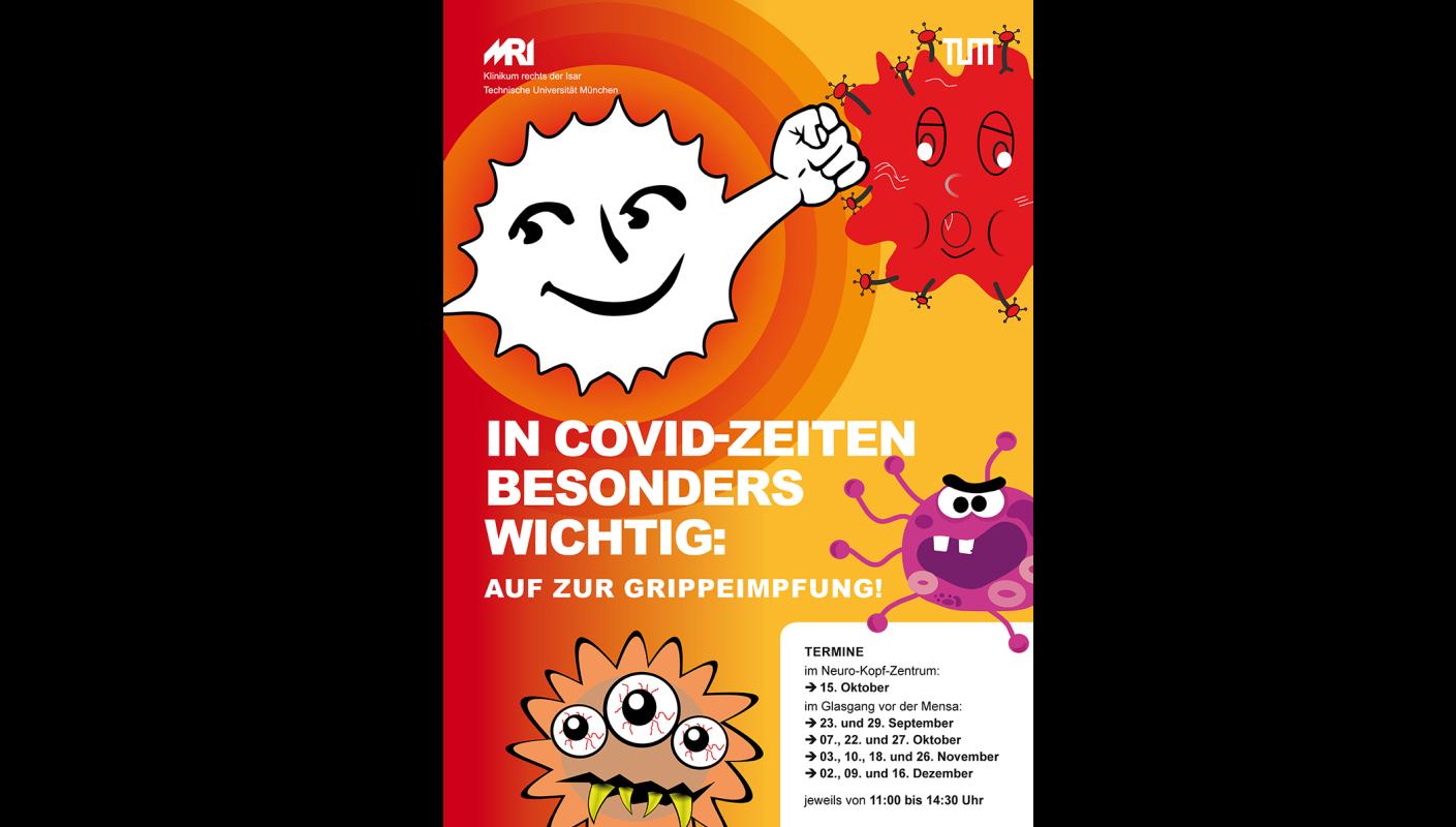 Poster Grippeimpfung